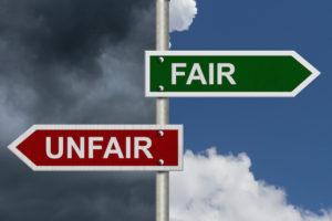 fairness test - fair or unfair