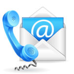 landlords - contact your tenant by phone or email